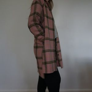 Wild Fable Target Plaid Coat sz Small